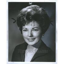 1969 Press Photo Coleen Gray Movie TV Actress