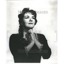 1965 Press Photo Leopoldine Leonie Rysanek Der Wagner - RRR75095