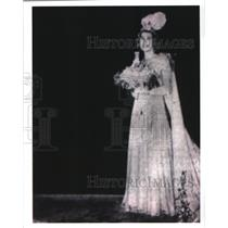 1939 Press Photo Carnival Queen of Twelfth Night Revelers Charlotte Hardie.