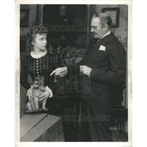 1941 Press Photo Life With Father Waram Gish Couple