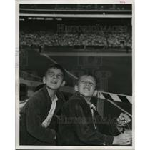 1953 Press Photo Milwaukee Braves Knothole Club- first Knothole day of season.