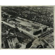 1929 Press Photo State prison, Auburn, New York, where new riots occurred