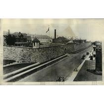 1929 Press Photo 1500 prisoners revolt, burn part of Clinton Prison, Dannemora