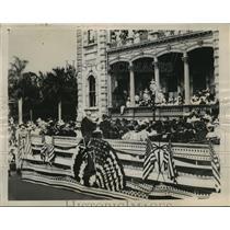 1948 Press Photo Harold Sewall and Sanford B. Dole, ceremony annexing Hawaii