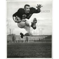 1959 Press Photo Bill Kauth, halfback for University of Minnesota. - mjs04367