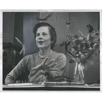 1957 Press Photo Ruth Gordon Jones Actress
