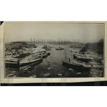 1929 Press Photo British Columbia Victoria Harbor. - mjx18795