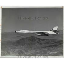 1977 Press Photo B-1 Bomber Airplane - cva37707