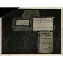 1931 Press Photo Count Buzzi-Gradenigo of Italy Bomb Packaging - nef27077