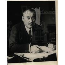 1924 Press Photo Biron Von Mritzahn appointed German Ambassador to the U.S.