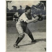 1927 Press Photo Baseball Player Luke Sewell - cvb77229
