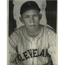 1931 Press Photo Bob Seeds of the Cleveland Indians - cvb77246