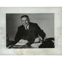 1953 Press Photo Waldemar Kraft - Member of Germany's Cabinet - mja35267