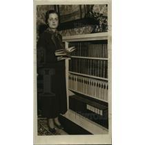 1935 Press Photo Mrs. Frederick Millard - mja35735