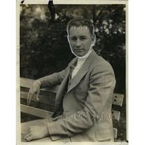 1930 Press Photo Irving Hadley of Washington American League team - net27204