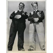 1941 Press Photo Indianapolis skeet tournament Grant Ilsing, Alex Kerr