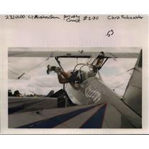 2000 Press Photo Portland Rose Festival - Air Show - orb50593
