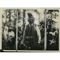 1958 Press Photo Big Chief Uncle Sol Levitan- A member of the Chippewa tribe.