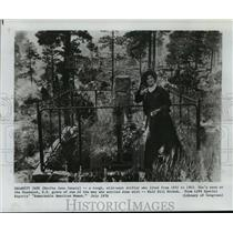1976 Press Photo Calamity Jane, Martha Jane Canary, wild west drifter.