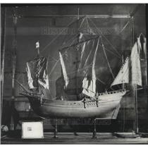 1951 Press Photo Christopher Columbus-Pinta, Caught first sight of the New World