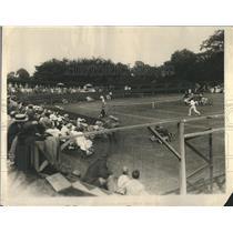 1925 Press Photo Orange Lawn Tennis Club-Gillespie Cup