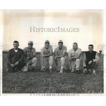 1958 Press Photo Thurman Bolerjack Bob Brigham Pat Roon - RRR31217