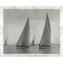 1950 Press Photo Yachting Race Chicago Macinac - RRR33993