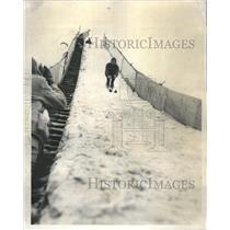 1957 Press Photo Frank Kasper Skiing - RRR56689