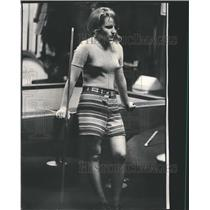 1973 Press Photo Pool