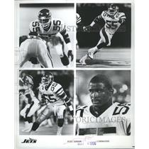 1996 Press Photo Jets Alex Gordon Linebacker Action - RRR65257