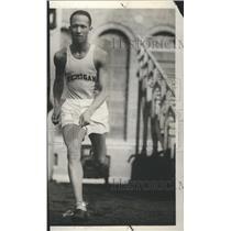 1928 Press Photo Richard Kenney Sports Athlete US - RRR74477