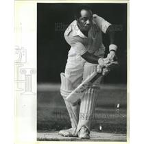 1988 Press Photo Renford Riley local Cricket Player - RRR76939