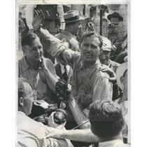 1955 Press Photo Wilbur Shaw Speedking