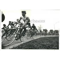 1980 Press Photo Lincoln Park Chicago Cycling Stockton - RRR82289