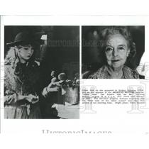 1989 Press Photo Lillian Gish in 1919 Broken Blossoms