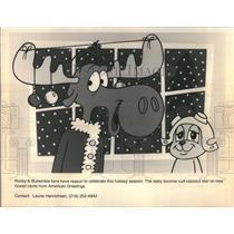 Rocky & Bullwinkle Cartoon
