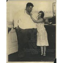 1931 Press Photo Harry Rowher Plans Wed Merida Caswell - RRR53417