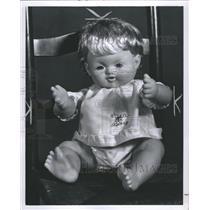 1967 Press Photo Doll Human Bieng Toy Model