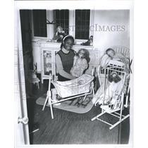 1972 Press Photo Doll Model Human Bieng Toy