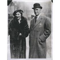 1934 Press Photo Elsie Ferguson -Actress