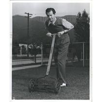 1942 Press Photo Bill Kennedy Actor Voice Artist