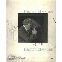1928 Press Photo of Frank Scott Clark