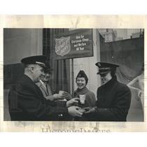1961 Press Photo Salvation Army Christmas - RRR28113