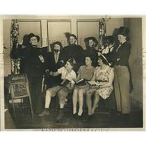 1939 Press Photo Women P.T.A. Comedy