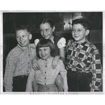 1952 Press Photo Spelling Bee
