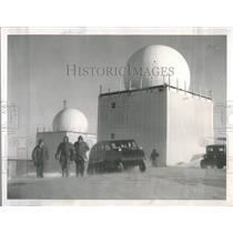 1956 Press Photo Exterior of Radar Dome