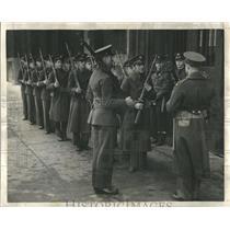 1941 Press Photo National Guard Army Guard Protection