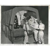 1957 Press Photo Illinois National Guard Camp Ripley