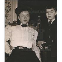 1919 Press Photo Helen Charlie Taft President Children - RRR47767