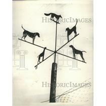 1929 Press Photo Weather-vane - RRR51869